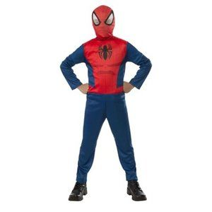 Spiderman Basic Boys Costume  5-7 Years